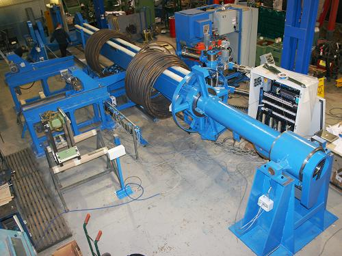 Continuous Steel Rod Infeed Unit