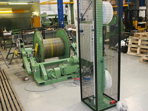 Refurbished 1250 Cantilever Driven Pay-off