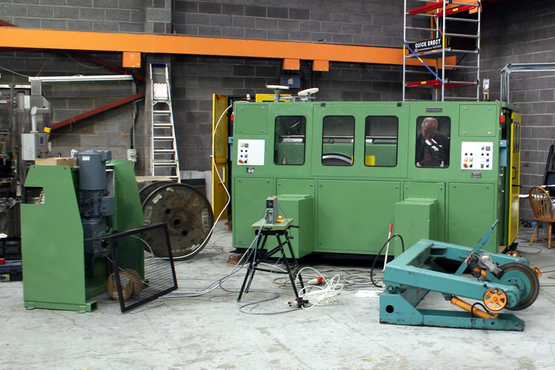 Kukama Dual Reeler refurbished and under test